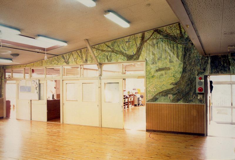 あかね保育園旧園舎フレスコ画(1996年)