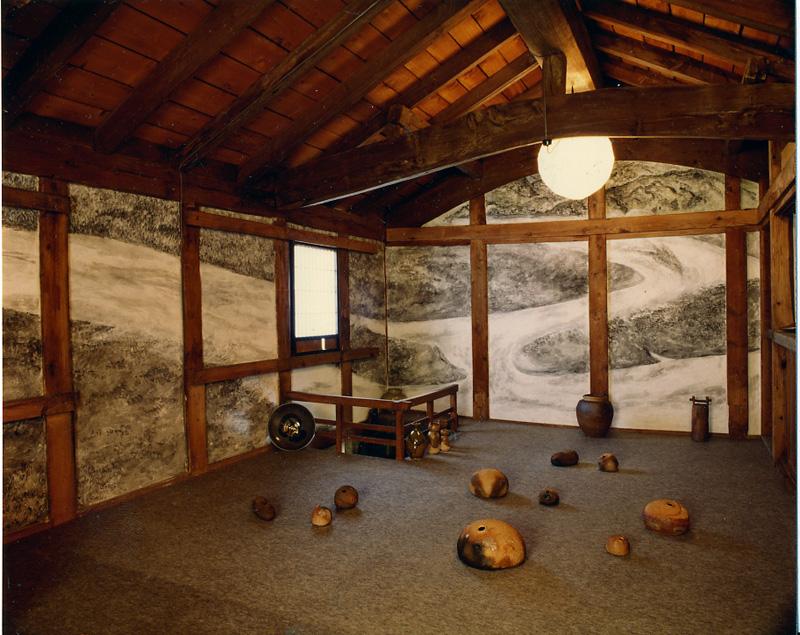 土蔵のフレスコ画(1993年)