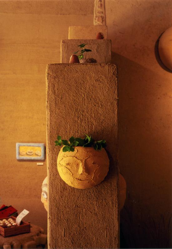 個展「草原の小屋」k's green gallery(2004年)